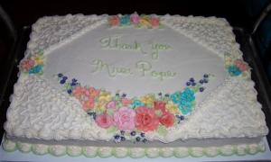 Mary's Thank You Cake