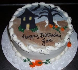 Joe's Halloween/Birthday cake