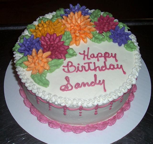 Happy Birthday Sandy Cakes