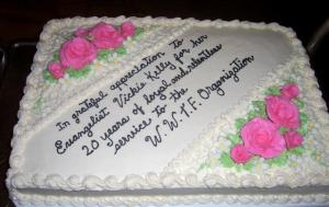 A Thank You cake